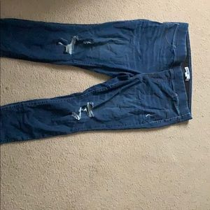 Old navy elastic waist rockstar jeggings